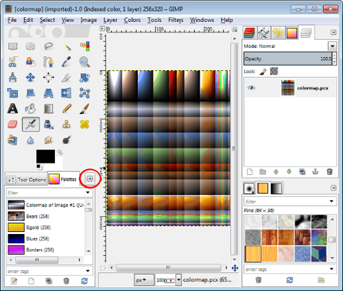 Colormap Pallette
